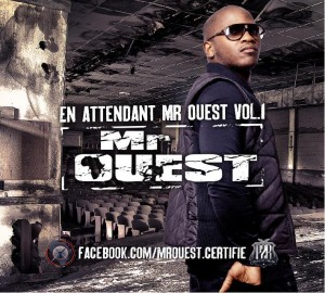 Pochette album hip-hop : en attendant Mr Ouest vol. 1
