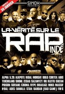 DVD Sinox La Vérité sur le rap indé Vol. 2 | Sinox