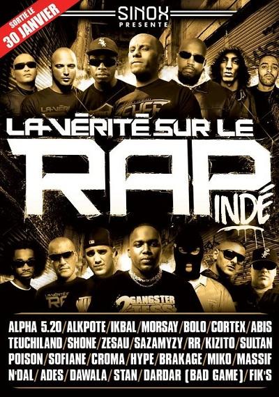 DVD La Vérité sur le rap indé Vol. 2 | Sinox