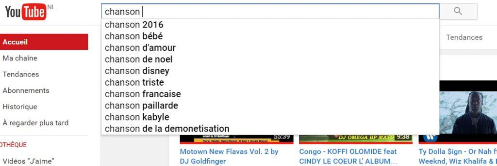stratégie musicale youtube