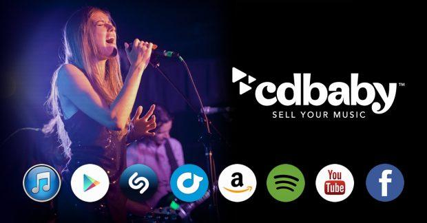 distribuer sa musique en ligne avec cd baby